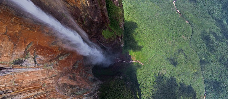 Angel Waterfall of Venezuela - The World's Highest Waterfall - AirPano.com • 360° Aerial Panoramas • 360° Virtual Tours Around the World