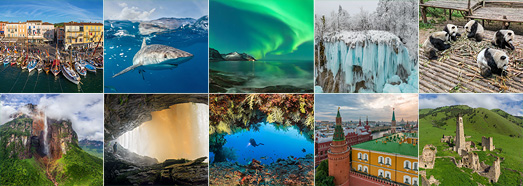 The best panoramas made by AirPano in 2017