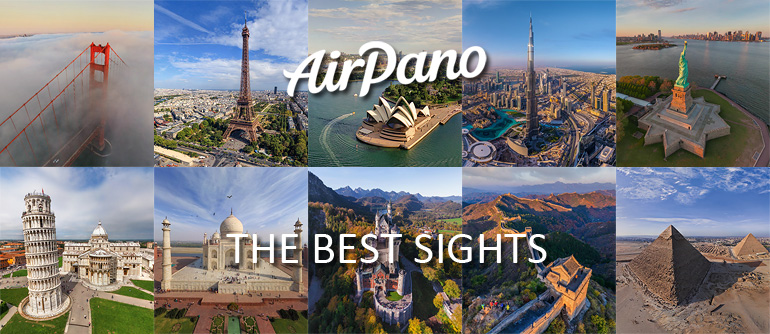 The Best Sights - AirPano.com • 360° Aerial Panoramas • 360° Virtual Tours Around the World