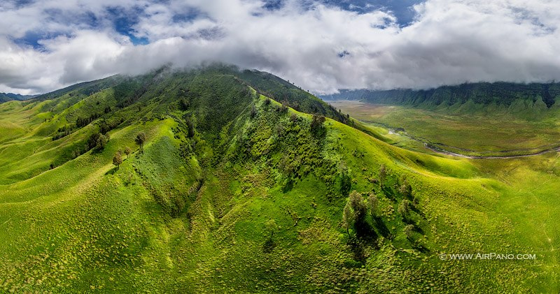 Savannas of the Bromo Tengger Semeru National Park