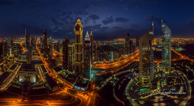 Emirates Towers and Al Yaqoub Tower, Dubai, UAE