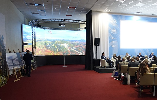 AirPano panoramas at the Eastern Economic Forum