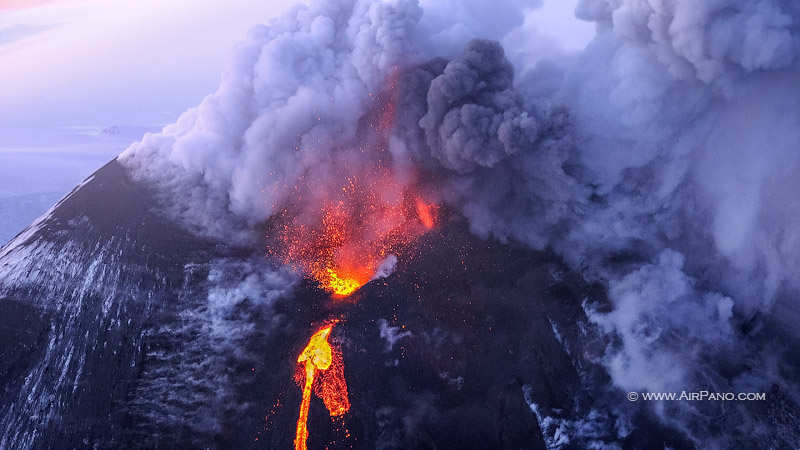 kluchevskaya sopka eruption