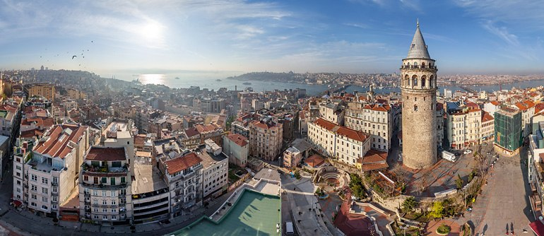 Istanbul, Turkey - AirPano.com • 360° Aerial Panoramas • 360° Virtual Tours Around the World