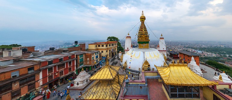 Kathmandu, Nepal - AirPano.com • 360° Aerial Panoramas • 360° Virtual Tours Around the World
