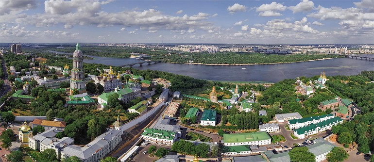 Kiev, Ukraine - AirPano.com • 360 Degree Aerial Panorama • 3D Virtual Tours Around the World