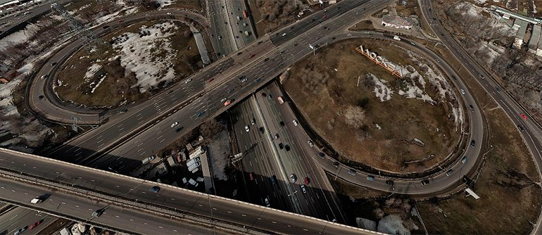 Moscow Automobile Ring Road (MKAD), Russia - AirPano.com • 360� Aerial Panorama • 3D Virtual Tours Around the World