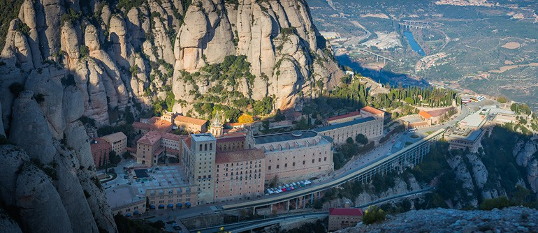 Abbey of Montserrat, Spain - AirPano.com • 360° Aerial Panoramas • 360° Virtual Tours Around the World