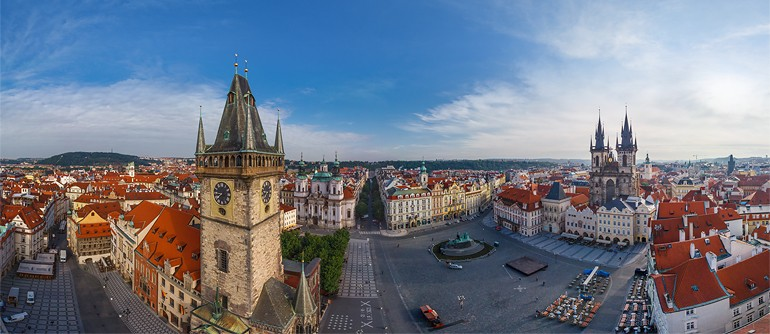 Prague, Czech Republic - AirPano.com • 360° Aerial Panoramas • 360° Virtual Tours Around the World