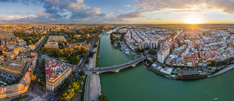 Seville, Spain - AirPano.com • 360° Aerial Panoramas • 360° Virtual Tours Around the World