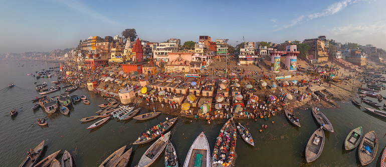 Varanasi, India - AirPano.com • 360° Aerial Panoramas • 360° Virtual Tours Around the World