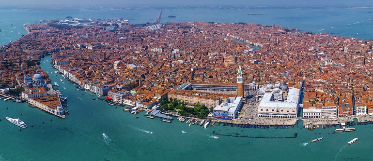 Venice, Italy - AirPano.com • 360° Aerial Panoramas • 360° Virtual Tours Around the World
