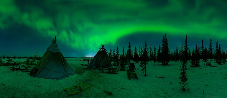 Yamal Peninsula, Russia - AirPano.com • 360° Aerial Panoramas • 360° Virtual Tours Around the World