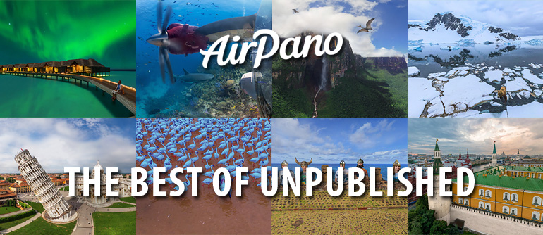 1st of April. Best unpublished panoramas - AirPano.com • 360° Aerial Panoramas • 360° Virtual Tours Around the World