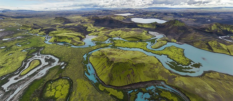 Highlands of Iceland, Langisjor and Veidivotn - AirPano.com • 360° Aerial Panoramas • 360° Virtual Tours Around the World