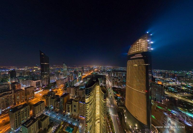 Abu Dhabi City Lights