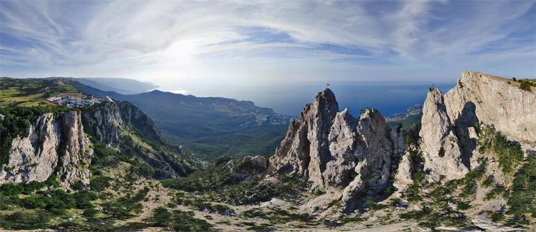 Ai-Petri in Crimea, Russia - AirPano.com • 360° Aerial Panoramas • 360° Virtual Tours Around the World