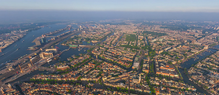 Amsterdam, Holland, 2009 - AirPano.com • 360° Aerial Panoramas • 360° Virtual Tours Around the World
