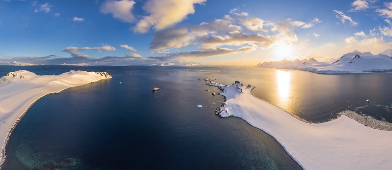 Antarctic expedition of AirPano, Part II - AirPano.com • 360° Aerial Panoramas • 360° Virtual Tours Around the World
