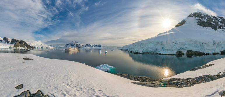 Antarctic Biennale - AirPano.com • 360° Aerial Panoramas • 360° Virtual Tours Around the World