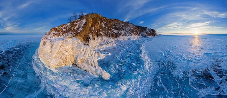 Lake Baikal, Russia - AirPano.com • 360° Aerial Panoramas • 360° Virtual Tours Around the World
