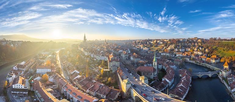 Bern, Switzerland - AirPano.com • 360° Aerial Panoramas • 360° Virtual Tours Around the World