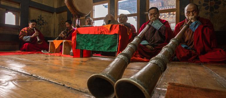 Bhutan. Part II. Thangbi Lhakhang - AirPano.com • 360° Aerial Panoramas • 360° Virtual Tours Around the World