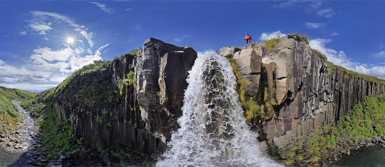 Waterfalls of Iceland - AirPano.com • 360° Aerial Panoramas • 360° Virtual Tours Around the World