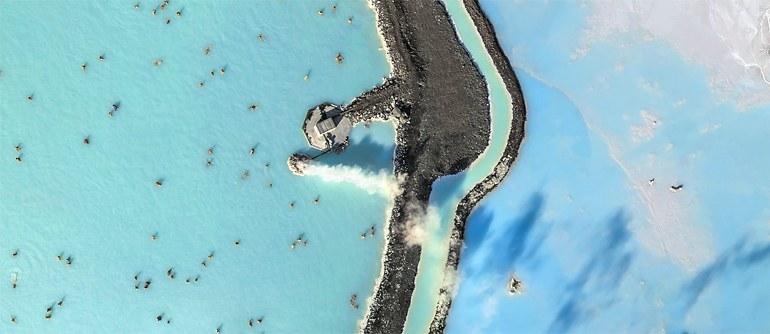 "Thermal Resort ""Blue Lagoon"", Iceland - AirPano.com • 360° Aerial Panoramas • 360° Virtual Tours Around the World"