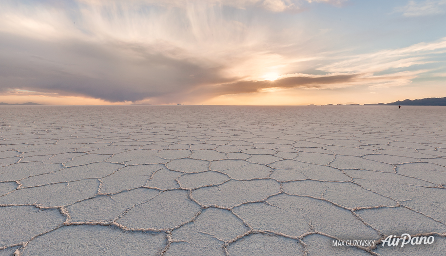 Salar De Uyuni Bolivia 360 Aerial Panorama Vr Virtual