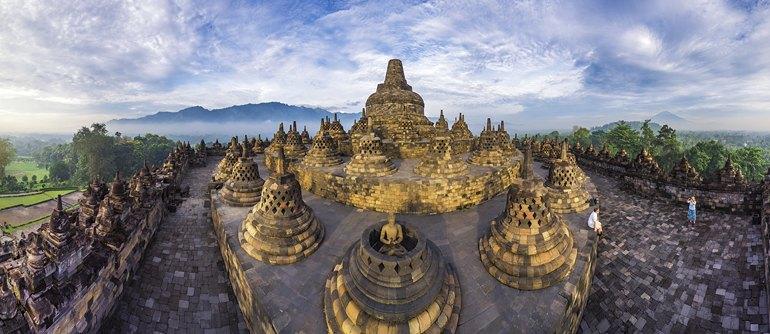Borobudur, Indonesia - AirPano.com • 360° Aerial Panoramas • 360° Virtual Tours Around the World