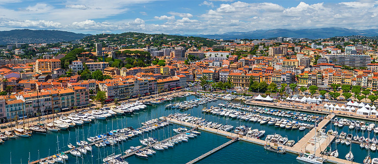 Cannes, French Riviera, France - AirPano.com • 360° Aerial Panoramas • 360° Virtual Tours Around the World