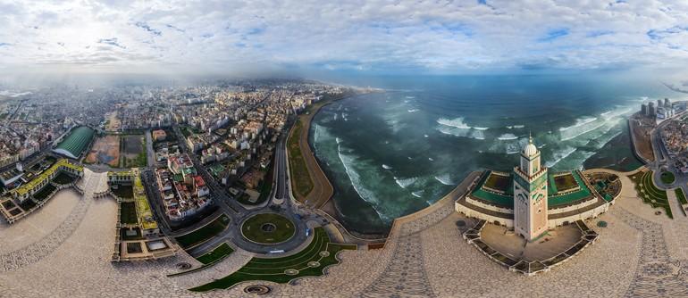 Casablanca, Morocco - AirPano.com • 360° Aerial Panoramas • 360° Virtual Tours Around the World