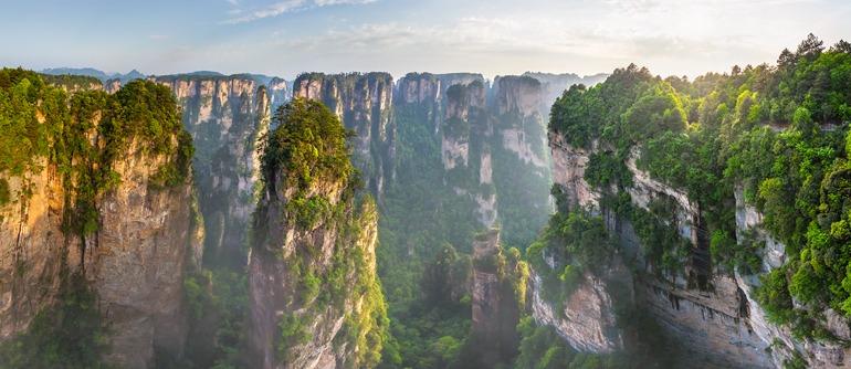 Zhangjiajie National Forest Park (Avatar Mountain), China - AirPano.com • 360° Aerial Panoramas • 360° Virtual Tours Around the World