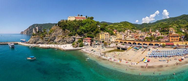 Monterosso, Cinque Terre, Italy - AirPano.com • 360° Aerial Panoramas • 360° Virtual Tours Around the World