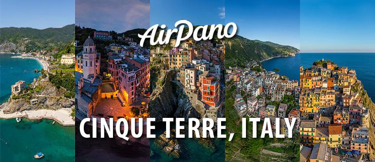 Cinque Terre, Italy - AirPano.com • 360° Aerial Panoramas • 360° Virtual Tours Around the World