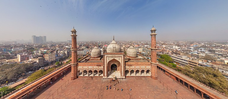 Delhi, India - AirPano.com • 360° Aerial Panoramas • 360° Virtual Tours Around the World