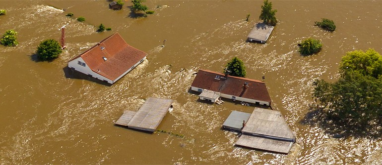 Flooding in Germany, 2013 - AirPano.com • 360° Aerial Panoramas • 360° Virtual Tours Around the World