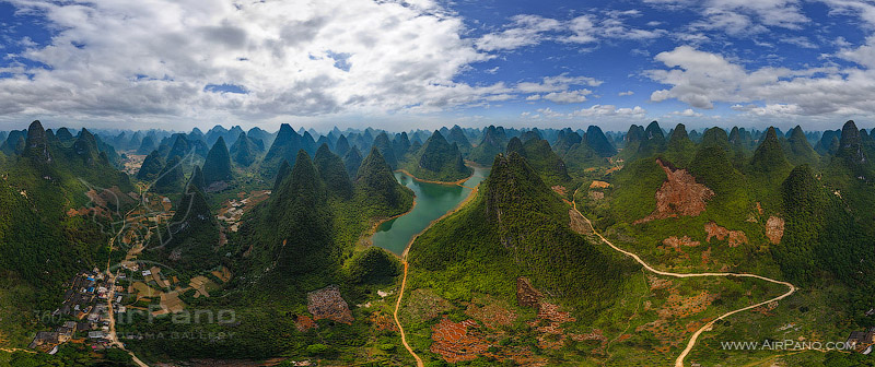Karst mountains of Guilin