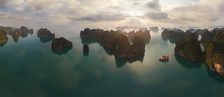 Halong Bay, Vietnam - AirPano.com • 360° Aerial Panoramas • 360° Virtual Tours Around the World