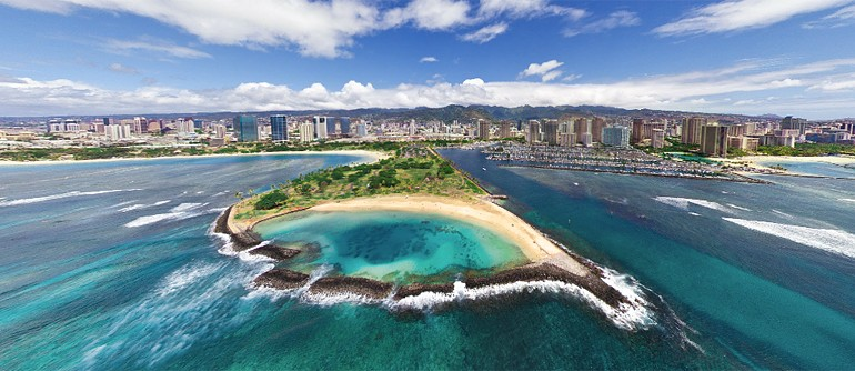 Hawaii, Oahu Island Virtual Tour - AirPano.com • 360° Aerial Panoramas • 360° Virtual Tours Around the World