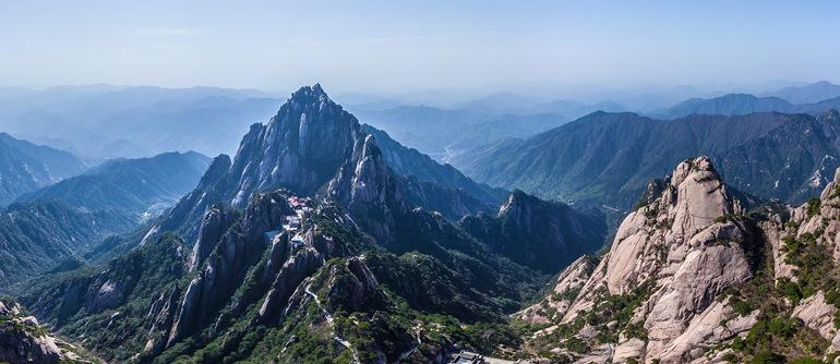 Huangshan mountains, China - AirPano.com • 360° Aerial Panoramas • 360° Virtual Tours Around the World