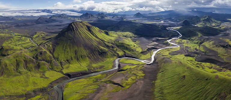 Fjallabak Nature Reserve, Iceland - AirPano.com • 360° Aerial Panoramas • 360° Virtual Tours Around the World