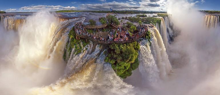 Iguazu Falls, Argentina-Brazil. Grand tour - AirPano.com • 360° Aerial Panoramas • 360° Virtual Tours Around the World