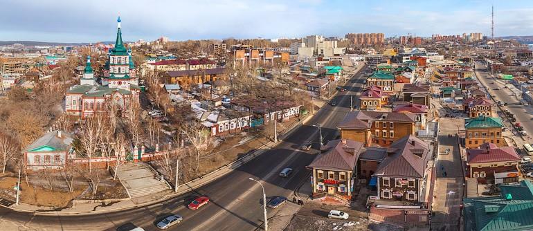 Irkutsk, Russia - AirPano.com • 360° Aerial Panoramas • 360° Virtual Tours Around the World