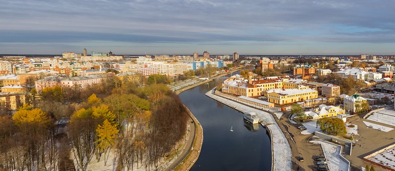 Golden Ring of Russia, Ivanovo - AirPano.com • 360° Aerial Panoramas • 360° Virtual Tours Around the World