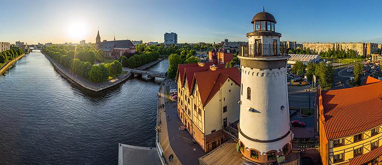 Kaliningrad Russia 360 176 Aerial Panoramas 360 176 Virtual