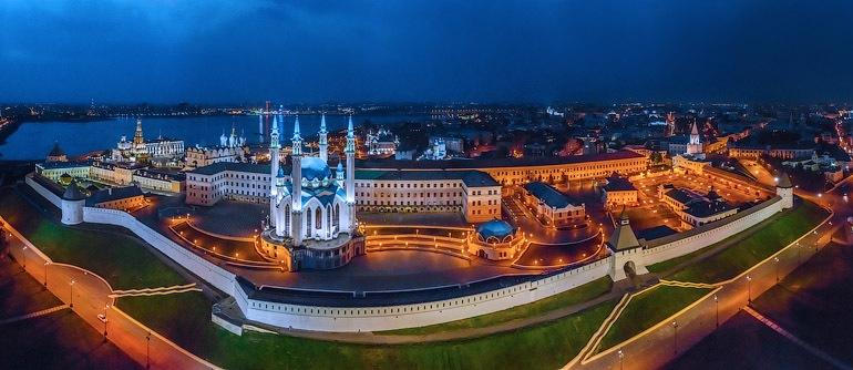 Kazan, Summer Universiade 2013, Russia - AirPano.com • 360° Aerial Panoramas • 360° Virtual Tours Around the World