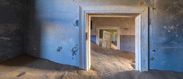 Kolmanskop Ghost Town, Namibia - AirPano.com • 360° Aerial Panoramas • 360° Virtual Tours Around the World