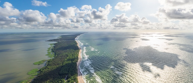 Curonian Spit, Russia - AirPano.com • 360° Aerial Panoramas • 360° Virtual Tours Around the World